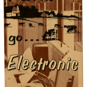 For higher profits, go ... electronic (Extension Folder No. 243)