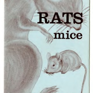 Rats, mice, and their control (Extension Folder No. 269)