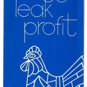 Cracked eggs leak profit (Extension Folder No. 298)