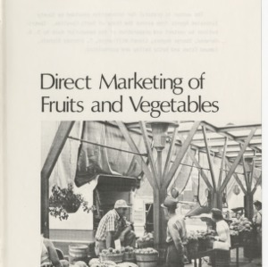 Direct farmer-to-consumer marketing activity for fruits and vegetables in North Carolina (AG-198)