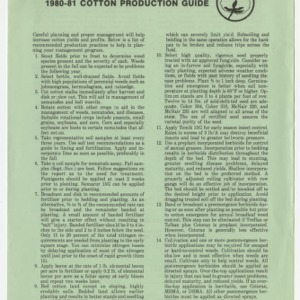 1980-1981 cotton production guide (AG-202)