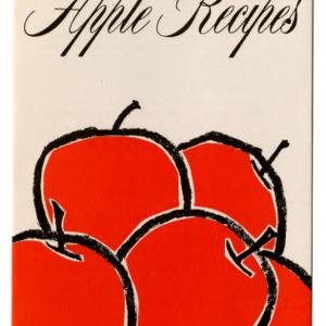 Good apple recipes (Folder 189, Revised)