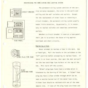 Home repair guides (Home Extension Publication 165)