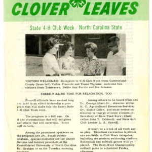 Clover leaves, July 22, 1963