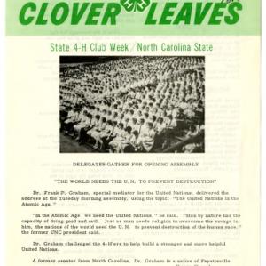 Clover leaves, July 23, 1963