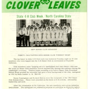 Clover leaves, July 24, 1963