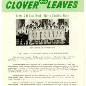 Clover leaves, July 24, 1963
