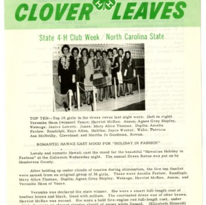 Clover leaves, July 25, 1963
