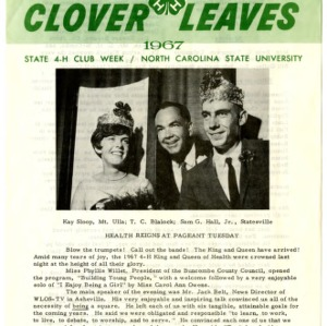 Clover leaves, July 26, 1967