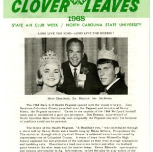 Clover leaves, July 24, 1968