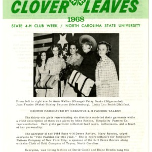 Clover leaves, July 25, 1968