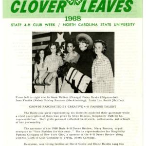 Clover leaves, July 25, 1968