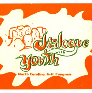 Dialogue with youth, North Carolina 4-H Congress