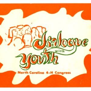 Dialogue with youth, North Carolina 4-H Congress