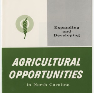Expanding and Developing Agricultural Opportunities in North Carolina