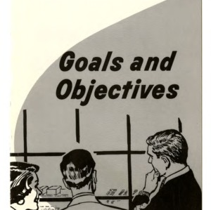 Community development: Goals and objectives (Extension Folder 203, Reprint)