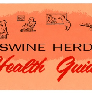 Swine herd health guide (Extension Folder 216)