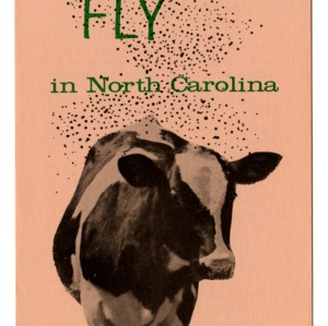 The horn fly in North Carolina (Extension Folder 231)
