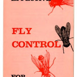Simple safe effective fly control for dairy farms (Folder 241)