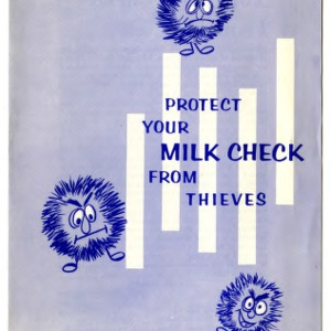 Protect your milk check from thieves (Extension Folder 253)
