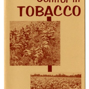 Crop rotation for disease control in tobacco (Extension Folder 261)