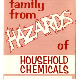 Protect your family from hazards of household chemicals (Extension Folder 263)