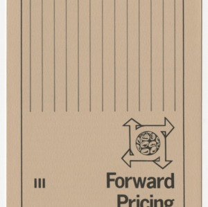 Forward pricing soybeans (Agricultural Extension Publication 285-3, Reprint) (Formerly Leaflet No. 197-III)