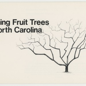 Pruning Fruit Trees in North Carolina (AG-29, Reprint)