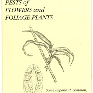 Insect and related pests of flowers and foliage plants (Agricultural Extension Publication 136)