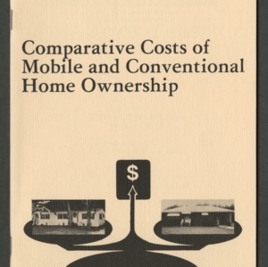 Comparative costs of mobile and conventional home ownership (CD-10)