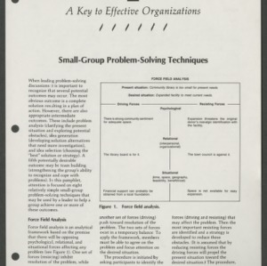 A Key to Effective Organizations 8: Small-Group Problem-Solving Techniques (CD-14-I(b))