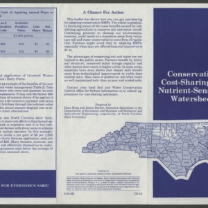 Conservation cost-sharing for nutrient-sensitive watersheds (CD-16)