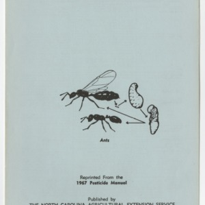 Household Pests (Leaflet No. 127)