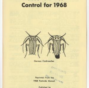 Household Pest Control for 1968 (Leaflet No. 139)