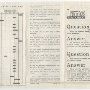 Lime Profit Hiker Q&A (Leaflet No. 147)