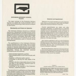 Extension Advisory Council (AM-19a)
