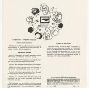 Extension Advisory Council (AM-19d)