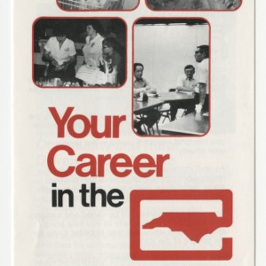 Your career in the North Carolina Agricultural Extension Service (AM-26, Reprint)