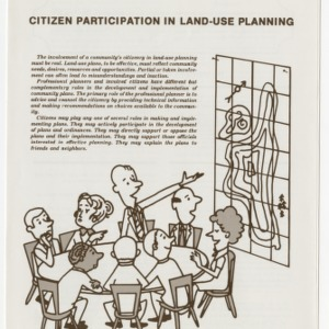 Citizen participation in land-use planning (Circular No. 548, Leaflet No. 4 in Series)