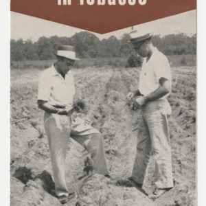 Fall cultural practices for Nematode Control in Tobacco (Folder No. 154)