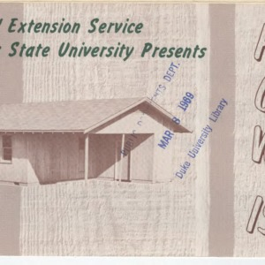 House of Wood (Leaflet No. 148)