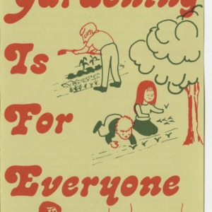 Gardening Is For Everyone (Leaflet No. 178)