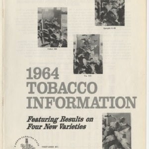 1964 Tobacco Information