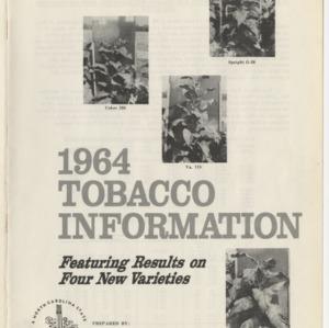 1964 Tobacco Information