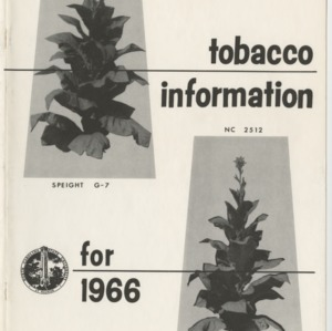 1966 Tobacco Information