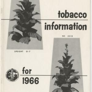 1966 Tobacco Information