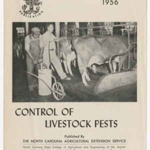 Control of Livestock Pests 1956