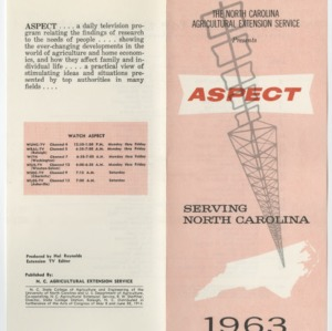 Aspect -- Program Guides 1963-1968