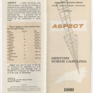 Aspect -- Program Guides 1969-1971