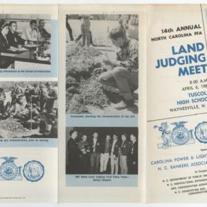 Land Judging Meet 6 Apr. 1968